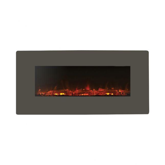 Pasadena Grey LED Electric Fire
