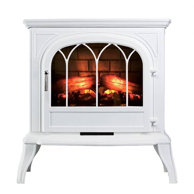 Amberley White LED Electric Stove