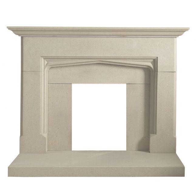 Applemore Fireplace Portland Stone