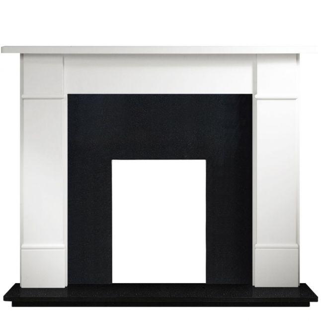Austin Agean Limestone Fireplace