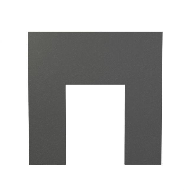Fireplace Backpanel - Black Granite Honed