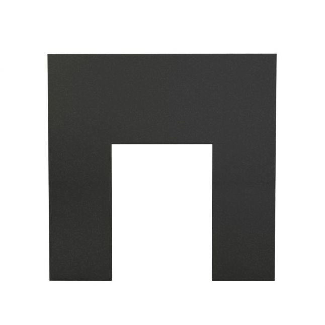 Fireplace Backpanel - Black Granite Polished