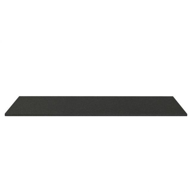 Fireplace Hearth 20mm Flat - Black Granite Polished
