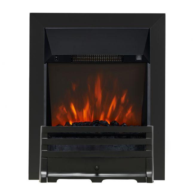 Clara Grove Black LED Electric Fire