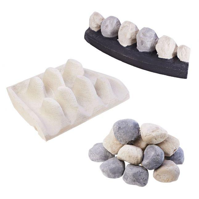 Full Depth Pebble Set - Moulded