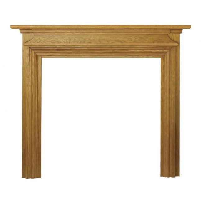 Dawlish Fireplace Surround Oak Veneer