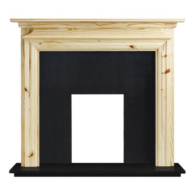 Dawlish Fireplace Unfinished Pine