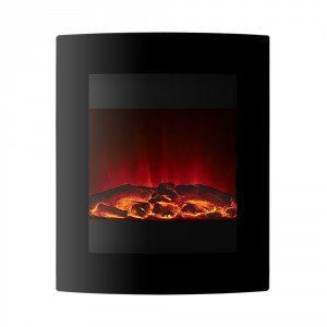 Ebony LED Electric Fire