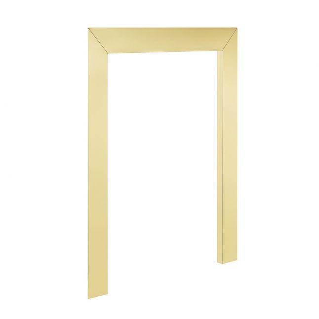 Fireplace Reduction Frame - Brass