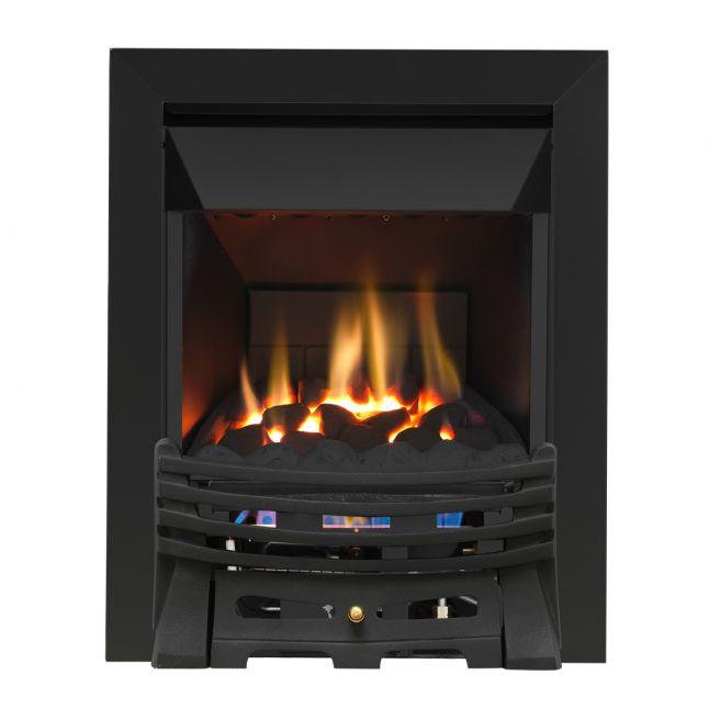Grosvenor Elysee Black High Efficiency Gas Fire