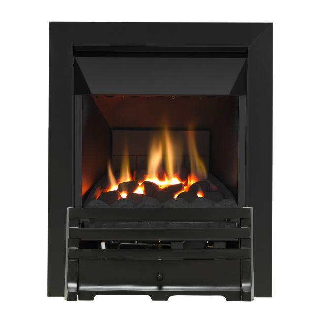 Grosvenor Grove Black High Efficiency Gas Fire