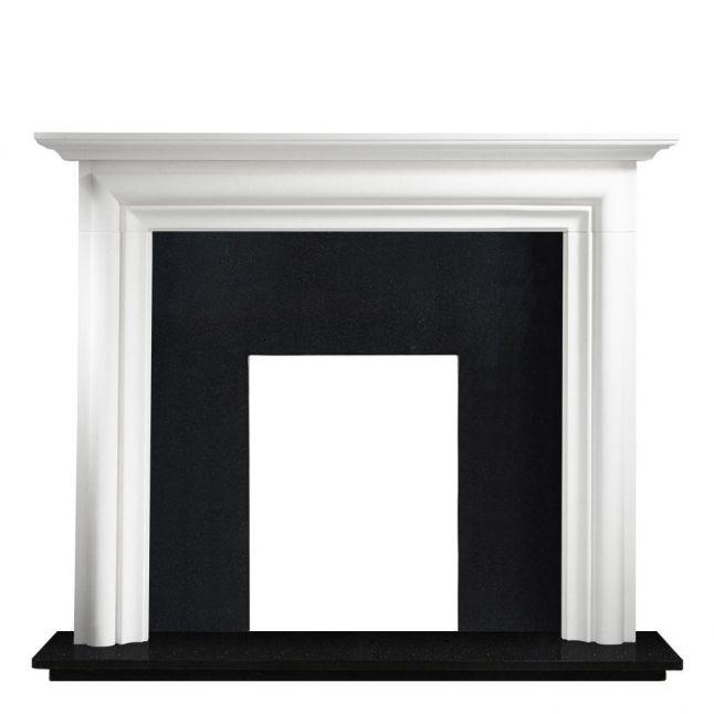 Mawgan Agean Limestone Fireplace