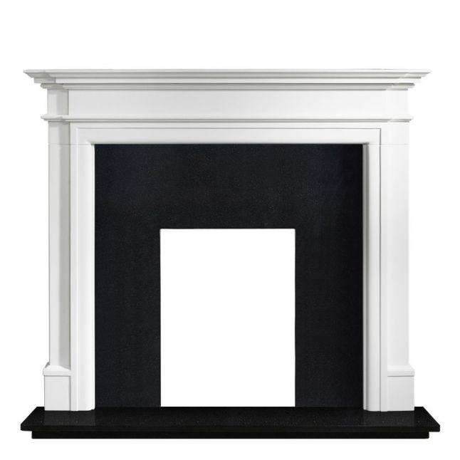 Padstow Agean Limestone Fireplace