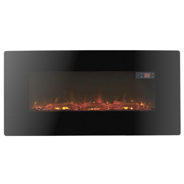 Pasadena Black LED Electric Fire
