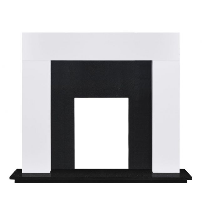 Sidmouth Fireplace Painted White