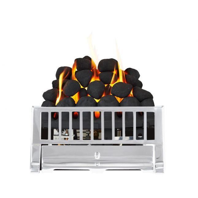 Sonora Farlam Chrome DGF Gas Fire