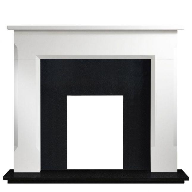 St Ives Agean Limestone Fireplace