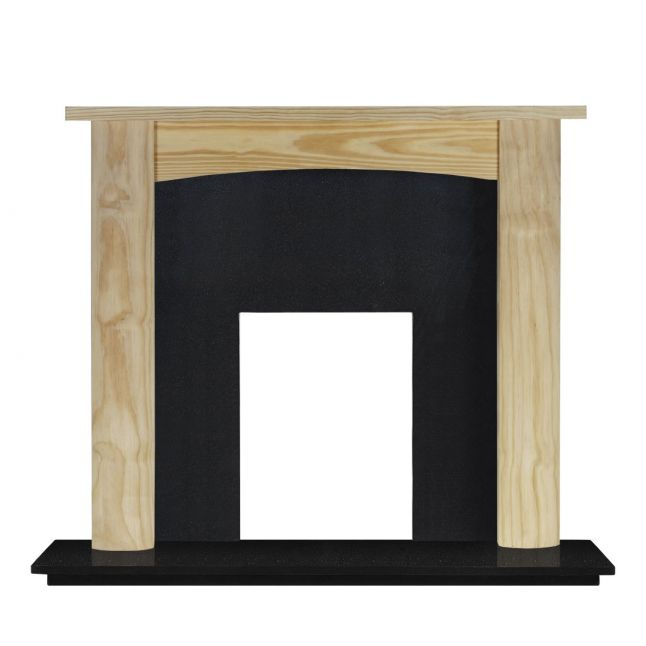 Sutherland Unfinished Pine Fireplace Suite