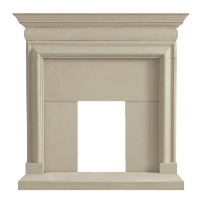 Taunton Fireplace Portland Stone