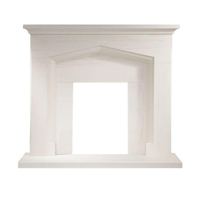 Truro Portuguese Limestone Fireplace NEW