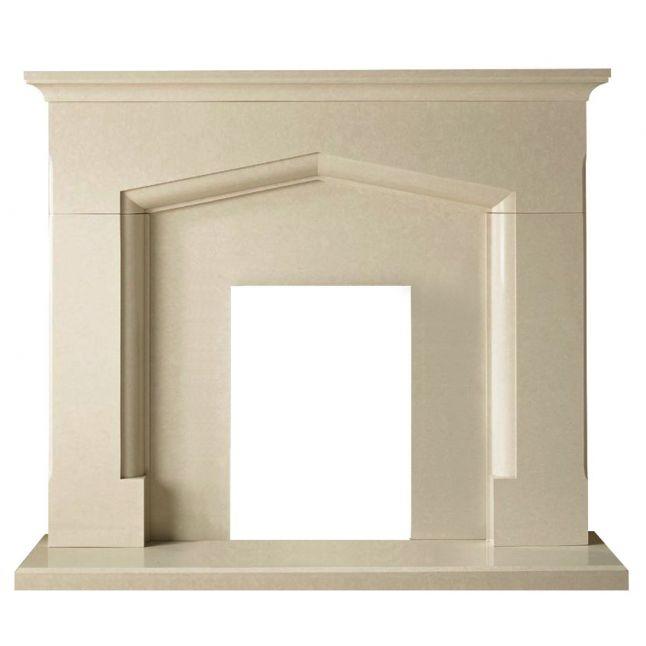 Truro Micro Marble Perla Fireplace Suite