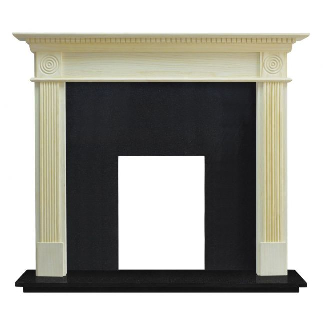 Waybridge Fireplace Unfinished Pine