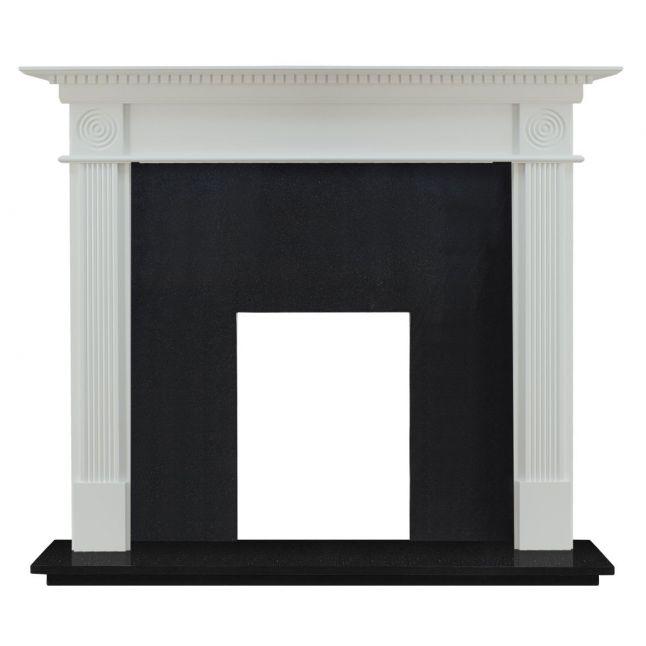 Waybridge Fireplace Painted White