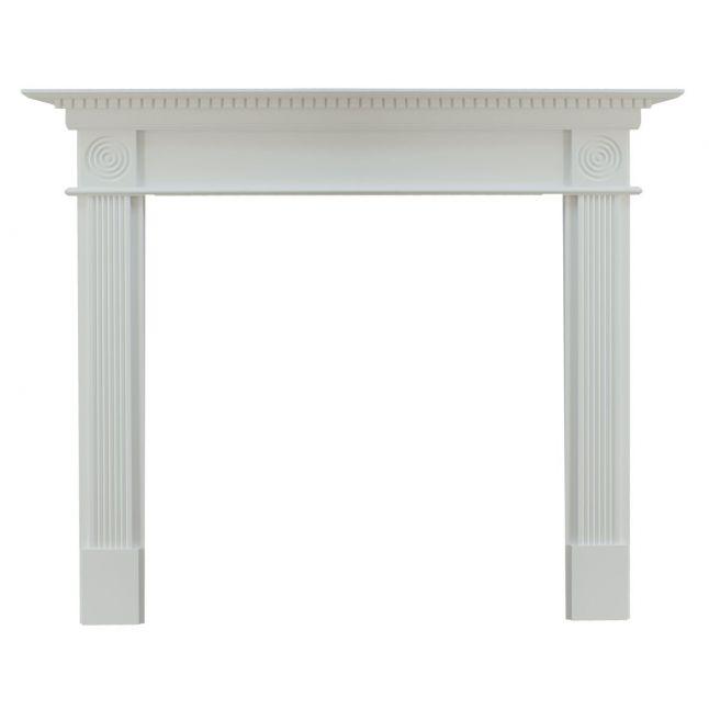 Waybridge Fireplace Surround Painted White