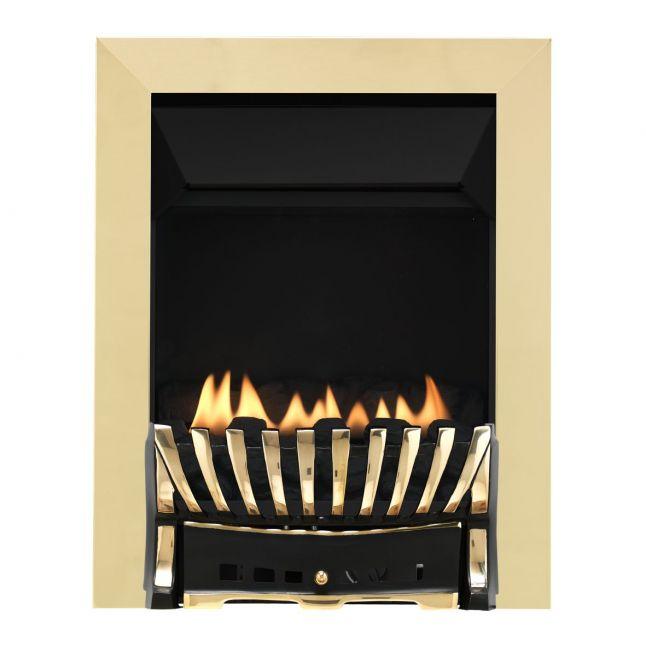 Westbury Elegance Brass & Black