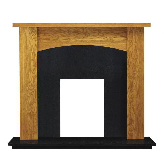 Wellington Fireplace Oak Veneer