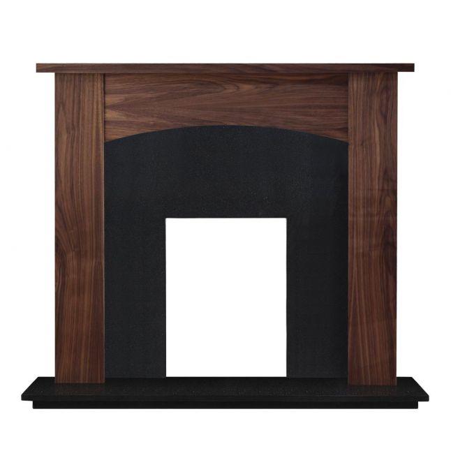 Wellington Fireplace Walnut Veneer