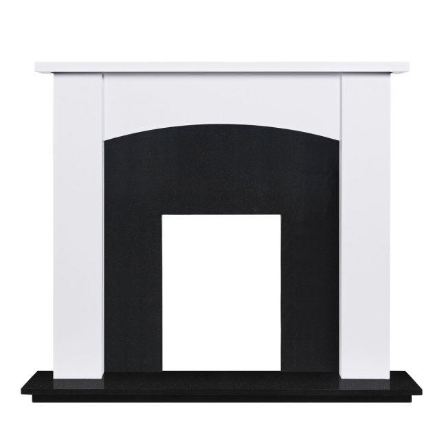 Wellington Fireplace Painted White