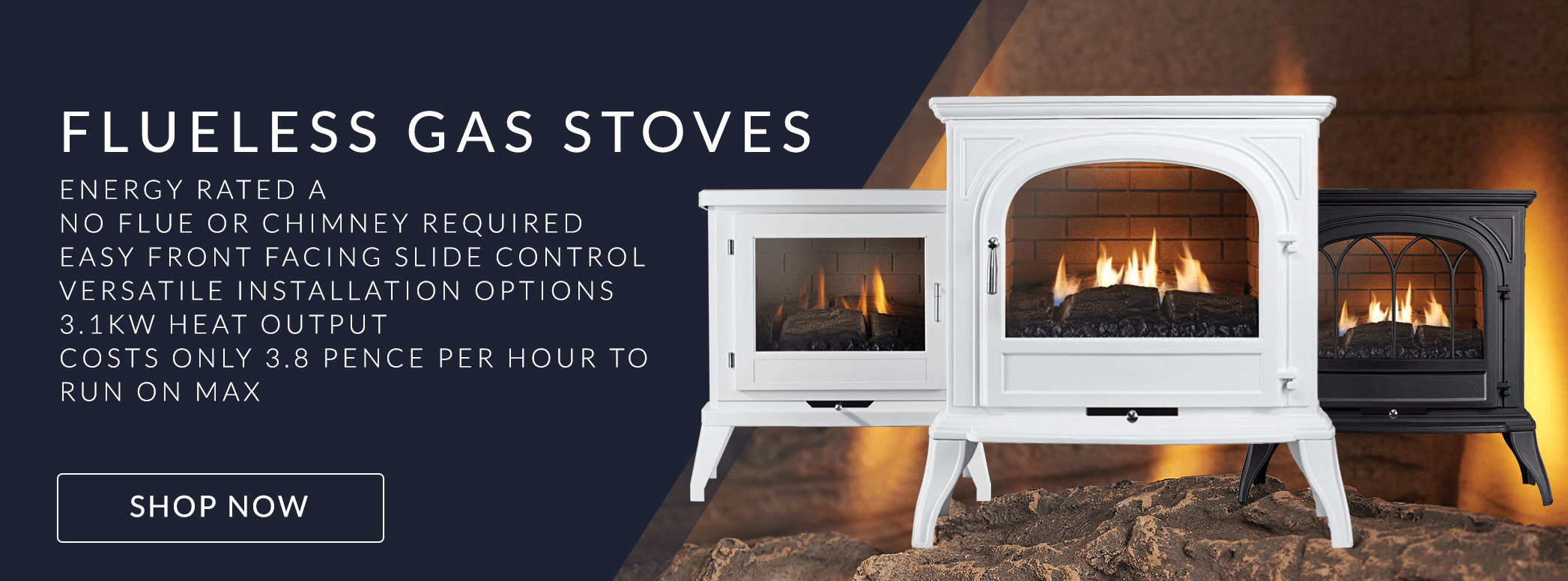 Electric Fires Gas Fires Stoves Amp Fireplaces Uk