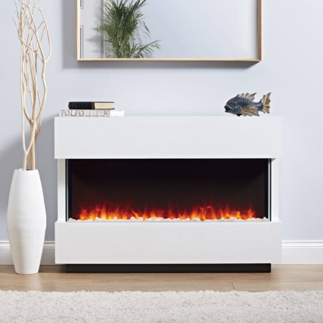 Panoramic LED Electric Fire