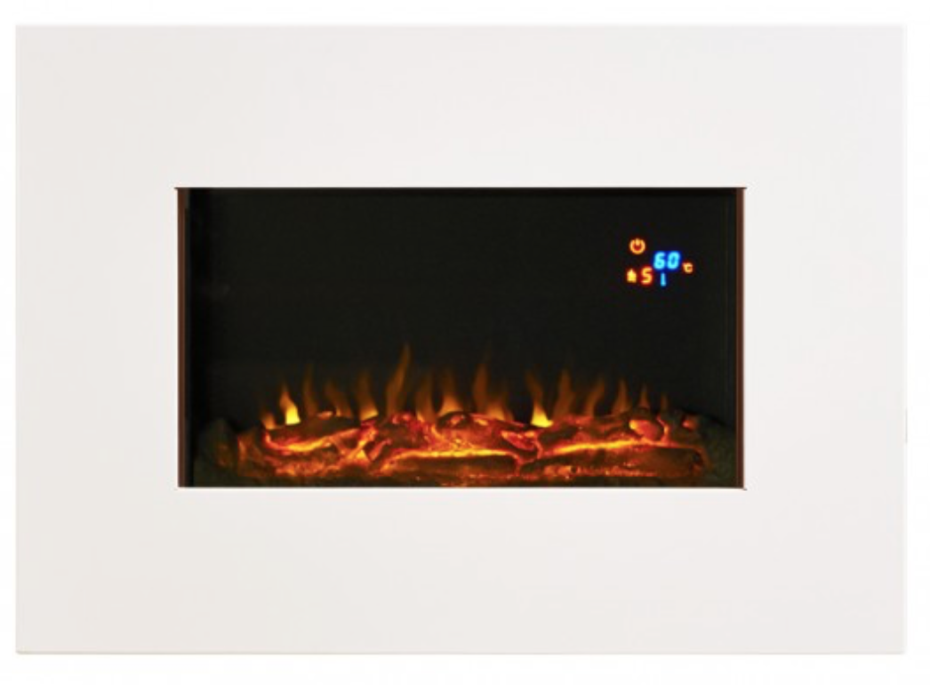 Shaftesbury FAB LED white electric fire
