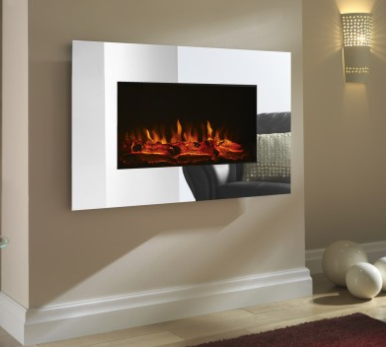 Mirror electric fire