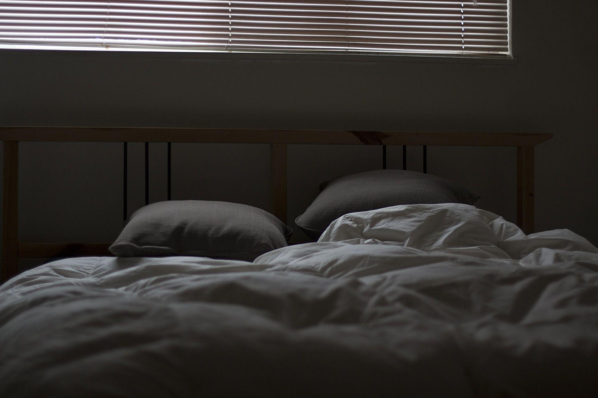 Sad looking bedroom