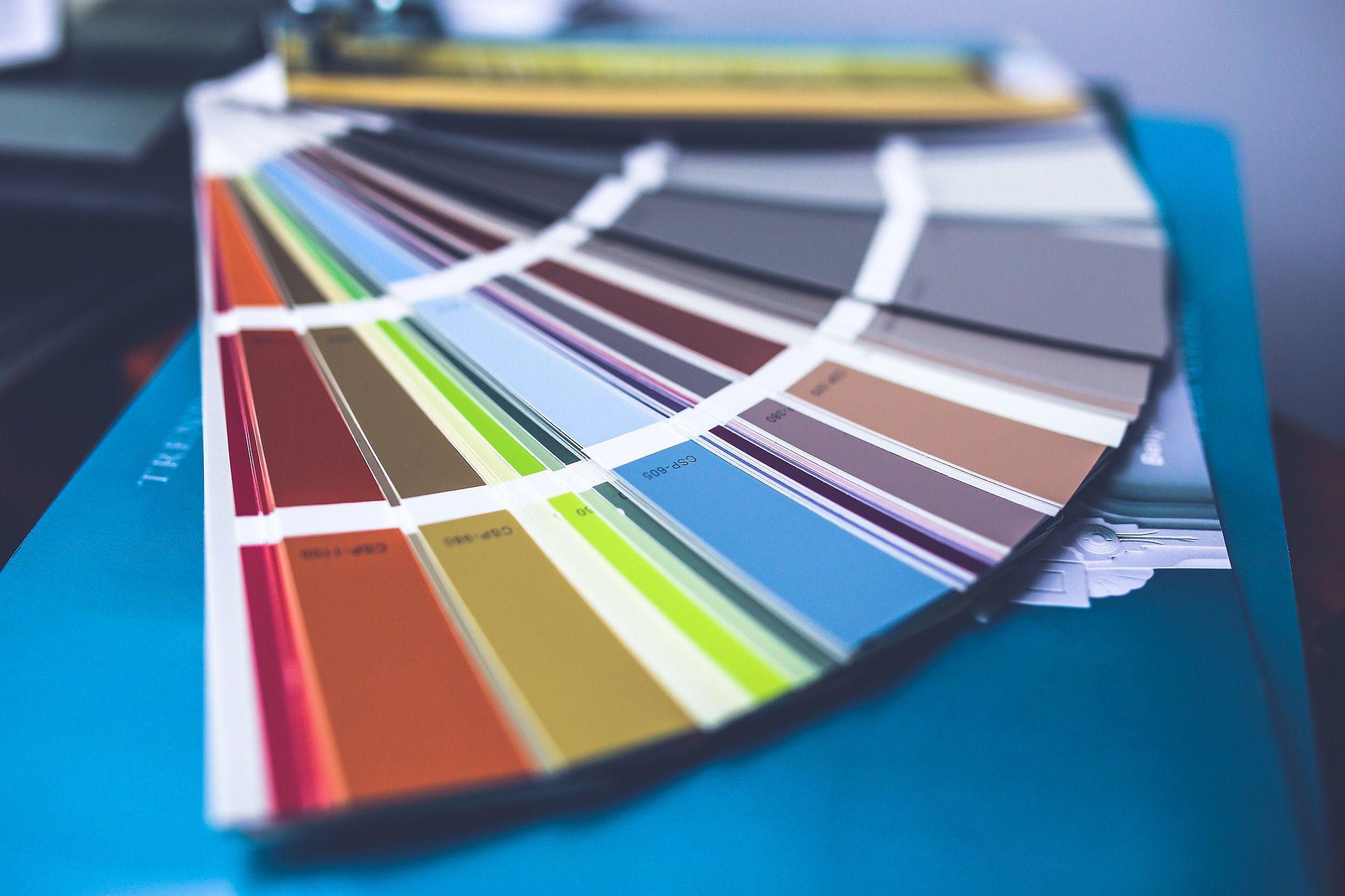 DIY colour chart