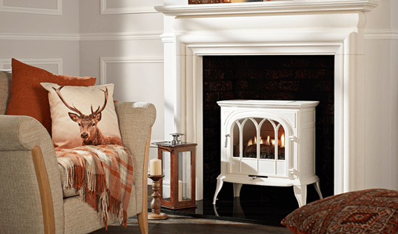 fireplaces are popular features in the home