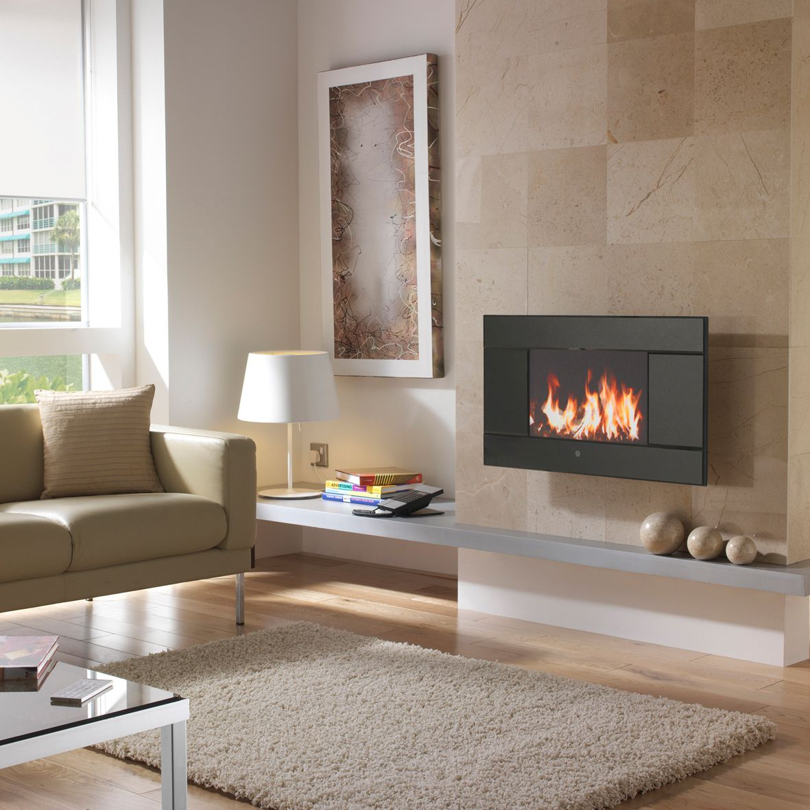 Electric fires are a good way to accessorise a living space